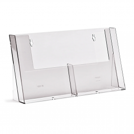 2 Pocket A5 Brochure Holder
