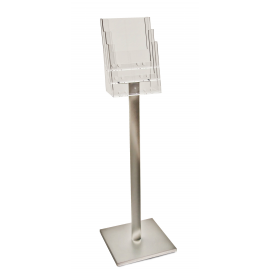 3 Pocket A4 Luxury Floor Stand