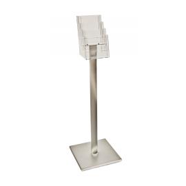 4 Pocket A5 Luxury Floor Stand