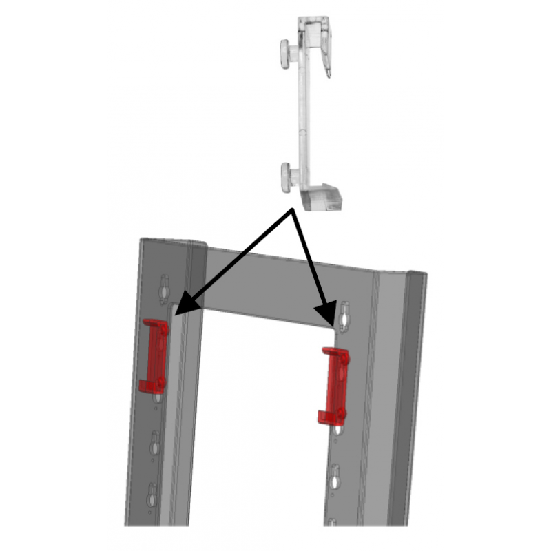 cliplock mounting clips taymar brochure holders