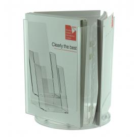 ClipLock 3 Pocket A4 Desktop Spinner