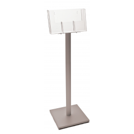 3 Pocket 1/3rd A4 (side by side) Luxury Floor Stand