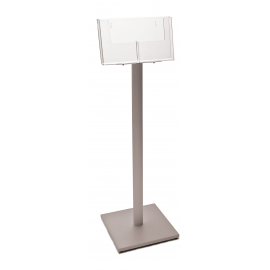 2 Pocket A5 Luxury Floor Stand - side by side