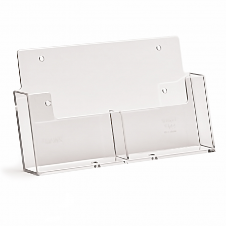 2 Pocket A6 Portrait Leaflet Holder