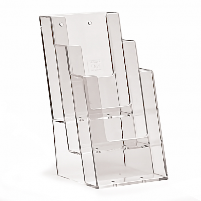 3 Pocket 1 3rd A4 Leaflet Holder