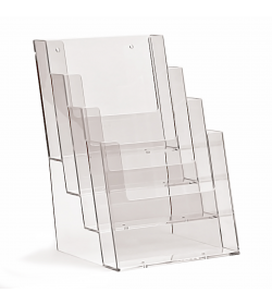4 Pocket A5 Portrait Leaflet Holder