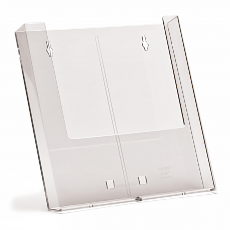 1 Pocket A4 portrait wall mounted brochure holder