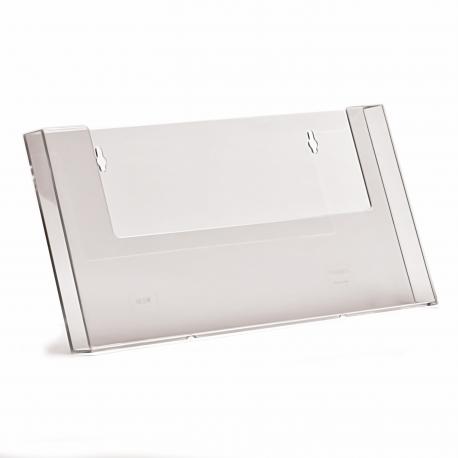 1 Pocket A4 Landscape Leaflet Holder
