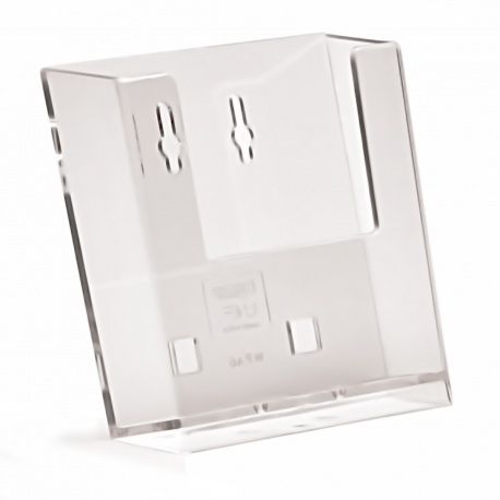 1 Pocket A6 Portrait Leaflet Holder