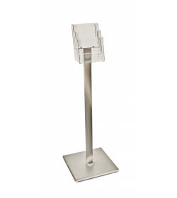 3 Pocket A5 Luxury Floor Stand
