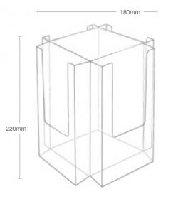 4 Pocket 1/3rd A4 Desktop Spinner