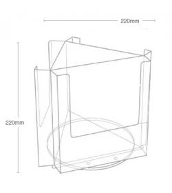 3 Pocket A5 Desktop Spinner