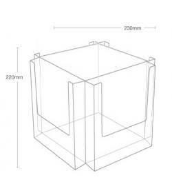 4 Pocket A5 Desktop Spinner