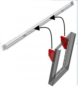 ClipLock Leaning Mounting Clips