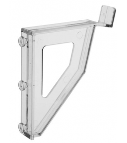ClipLock Leaning Slatwall Mounting Clips