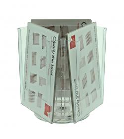 ClipLock 3 Pocket A5 Desktop Spinner