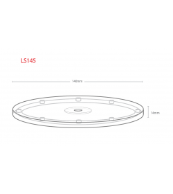 145mm Lazy Susan