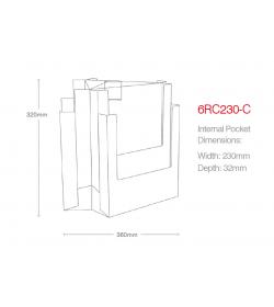 6 Pocket A4 Desktop Spinner