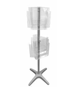 12 Pocket A4 Floor Standing Carousel