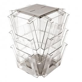 12 Pocket A4 Desktop Spinner